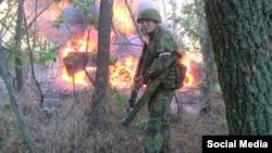 Командир бригади бойовиків з угруповання «ЛНР» «Русич» Олексій Мільчаков
