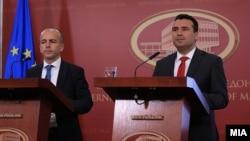 Прес конференција на премиерот Зоран Заев и на министерот Драган Тевдовски за буџетот за 2019.