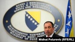 Igor Crnadak, ministar vanjskih poslova BiH