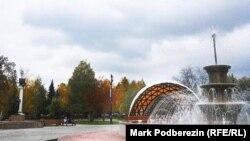 Городская площадь в Томске