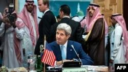 Госсекретарь Керри в Саудовской Аравии, 11 сентября 2014 года