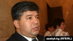 Former Kyrgyz Social Protection Minister Ravshan Sabirov (file photo)