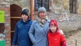 Надежда Сорокина с сыновьями