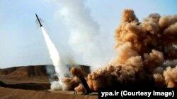 Испытательный запуск баллистической ракеты в Иране. Иллюстративное фото.