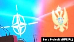 Zastava NATO-a i Crne Gore