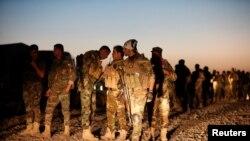Kurdske Pešmerge na istoku Mosula