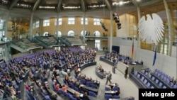 La votul din Bundestag (Foto: TV/ARD)