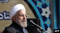 Президент Ирана Хасан Роухани. 11 февраля 2014 года.