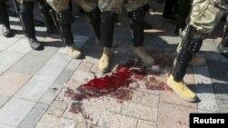 Украина Ички ишлар вазири тўқнашув пайтида 90дан ошиқ хавфсизлик кучлари жароҳатланганини билдирди.