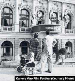 Первый фестиваль. Марианске Лазне, 1946