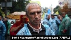 Микола, учасник протесту за скасування постанови Кабміну
