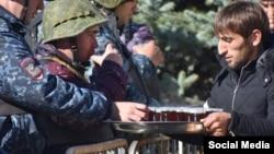 Отношения между протестующими и полицией в Ингушетии пока вполне теплые