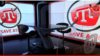 Вид опустевшей студии телеканала ATR после прекращения его финансирования. Киев, март 2020 года