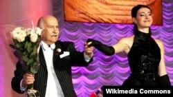 Российский актер Владимир Зельдин (слева), исполнитель ролей в фильмах «Карнавальная ночь», «Укрощение строптивой», «Дядя Ваня».