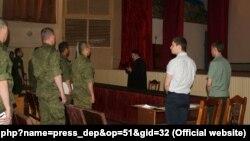 Приговор сержанту Павлу Тынченко зачитали в части. 2 июня 2015