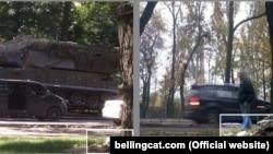 Опублікована розслідувачами Bellingcat нова фотографія російської ракетно-зенітної установки «Бук», з якої, імовірно, збили малайзійський «Боїнг-777» над Донбасом