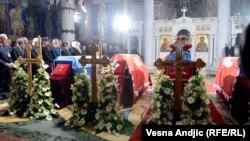 Похороны останков членов семьи Карагеоргиевичей 26 мая 2013 г.