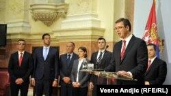 Nova vlada Srbije sa Aleksandrom Vučićem na čelu