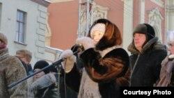 """Актриса Лариса Дмитриева, придумавшая цикл вечеров """"Кухня - территория свободы"""""""