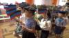 Так медиа группировки «ДНР» показывают мероприятие в детском саду Донецка