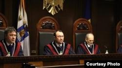 Moldova - Alexandru Tănase, president Constitutional Court, Chisinau