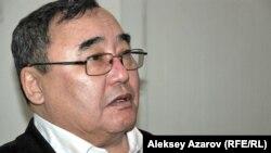 Директор историко-краеведческого музея Семея Бекен Темиров. Алматы, 17 февраля 2015 года.