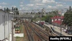 Акмәчетнең тимер юл вокзалы