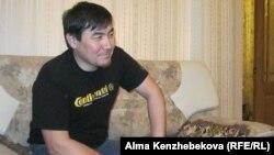 Алматы қаласының тұрғыны Дастан Оңалбаев. 23 наурыз 2014 жыл.