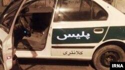 گفته می شود افراد مسلح ناشناس به کلانتری ۲۲ کوی مجاهد اهواز حمله کردند.(عکس از آرشیو)