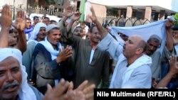 محتجون مصريون في القاهرة
