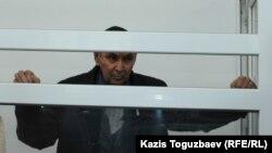 Болатхан Жунусов во время оглашения приговора. Талдыкорган, 21 октября 2019 года.