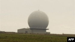 A NATO radar completed in the Czech Republic in 2007
