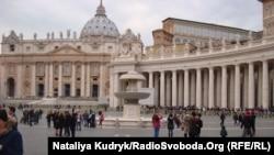 На площади Святого Петра в Риме. Иллюстративное фото.