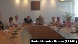Координација за справување со проблемите за време на летната сезона во Охрид.