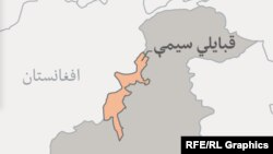 د پاکستان د قبایلي سیمو نقشه