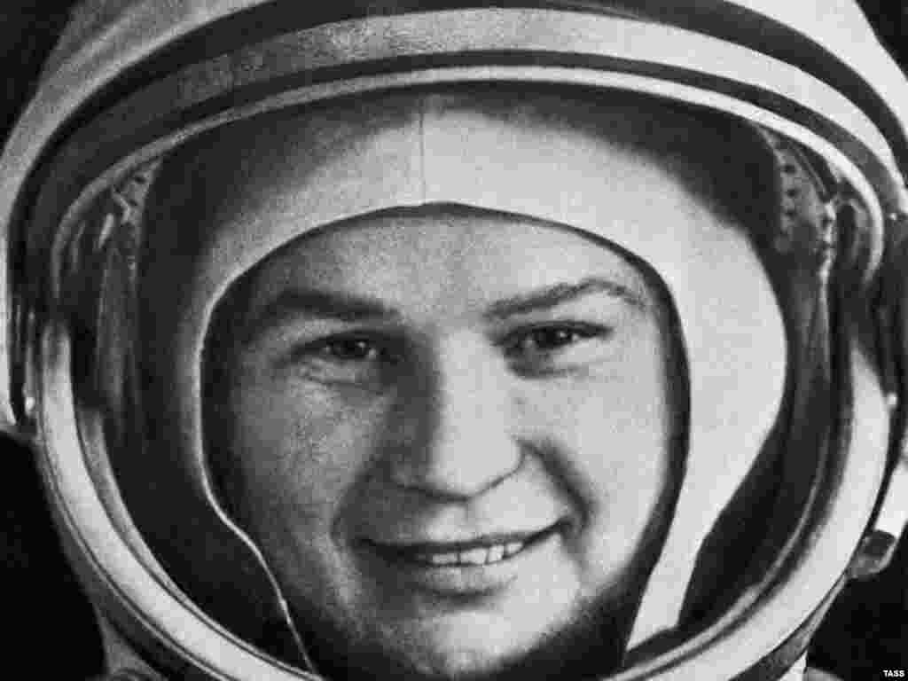 Valentina Tereshkova completed 48 orbits of the Earth in June 1963.