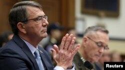 اشتون کارتر در جلسه کمیته نیروهای مسلح مجلس نمایندگان آمریکا
