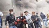 صحنهای از اعتراضهای آبان ۹۸ در شیراز