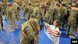 Ամերիկացի զինծառայողները Աֆղանստանից վերադառնում են հայրենիք, արխիվ