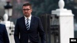 Претедателот на ВМРО-ДПМНЕ Христијан Мицкоски.
