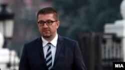 Претседател на ВМРО-ДПМНЕ, Христијан Мицкоски