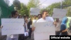 گروهی از دانشجویان ستارهدار در اعتراض به گفتههای محمود احمدینژاد درباره مقوله ستارهدار شدن دانشجویان