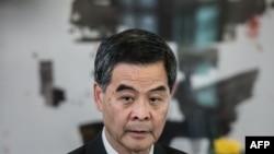 Лидерот на Хонг Конг, Леунг Чун Јинг.