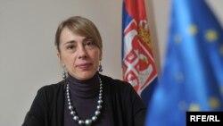 Milica Delević, direktorka Kancelarije za evropske integracije Vlade Srbije