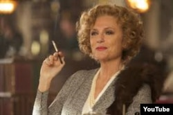 """Jacqueline Bissetin 2013-cü ildə çəkildi """"Son həddə olan rəqslər"""" filmindəki ifası. Bu aktrisanın filmdə sonuncu böyük işidir."""