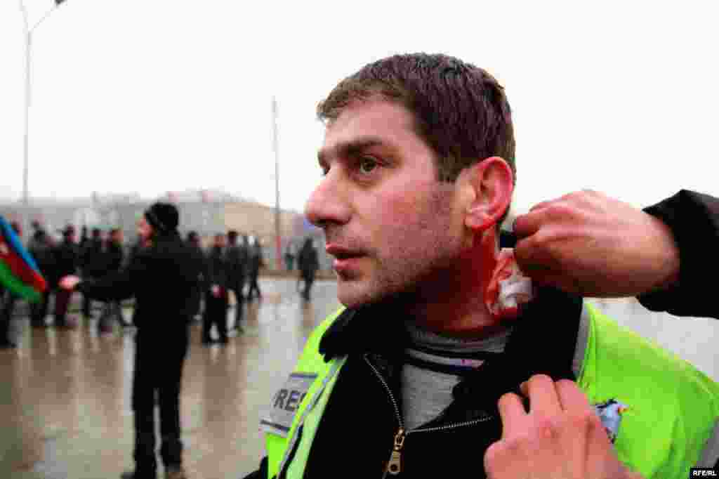 Protest Violence Erupts In Azerbaijan #14