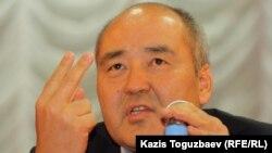 Өмірзақ Шүкеев, бұрынғы бірінші вице-премьер. Ақтау, 24 желтоқсан 2011 жыл