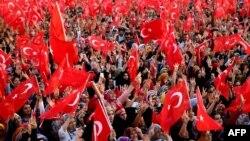 Թուրքիա - «Հակաահաբեկչական» հանրահավաքը Ստամբուլում, 20-ը սեպտեմբերի, 2015թ․