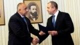Președintele Rumen Radev cu premierul Boiko Borisov