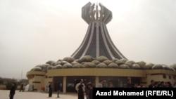 نصب ضحايا القصف الكيماوي لحلبجه(من الارشيف)